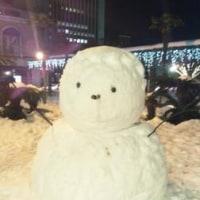 巨大雪だるま