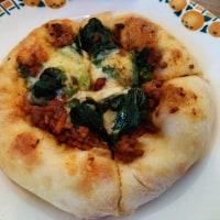 パン屋さんのピザ