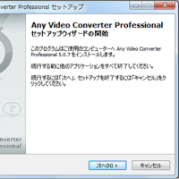 初心者Any Video Converter 使い方:動画変換/ダウンロード/編集/DVD作成