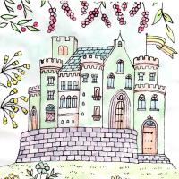 ロマンチックな西洋のお城(4)
