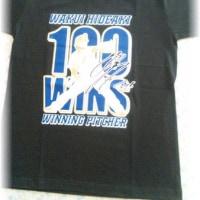 通算100勝Tシャツ