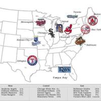 州を覚える  1 MLB-AL