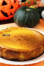 """ハロウィンに""""かぼちゃのベイクドチーズケーキ"""""""