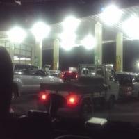 ガソリンの買いだめについて    東日本大震災