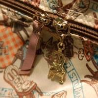ダヤンのボストンバッグ。しかもたためるんです! @nara_mise