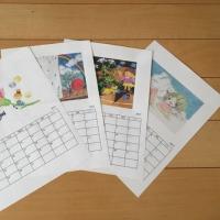 2017  カレンダー製作中
