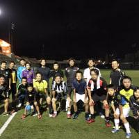 夜は大人のサッカースクール
