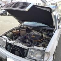 W124 ブロアファン交換