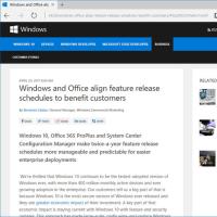 Windows10次の大幅バージョンアップは・・・