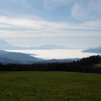 甲府盆地の雲海の正体