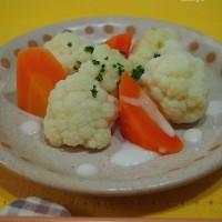 ♪菜の花と豚肉の炒め物&かぼちゃのハニーチーズサラダ 献立♪
