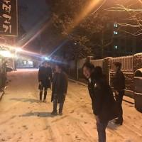 luxxs4さんinstagram 雪(^○^) グンちゃん楽しそう