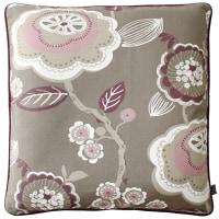 ◆◇◆ピックアップアイテム◆秋は座布団◆座布団カバー スペイン製 花柄 ボルドーと中身のセットでの提案