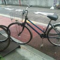 会社の自転車とお別れ