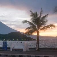 昨日の夕方のマヨン山
