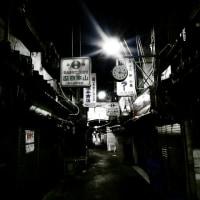 深夜の鶴橋商店街