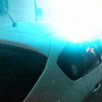 青色回転灯防犯パトロール