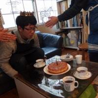 ガレット・デ・ロワで20歳のお祝い