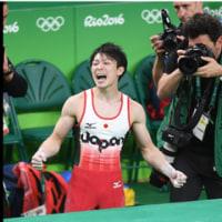 早朝から、感動の体操男子個人総合・・・・