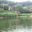 九州北部大豪雨後の北山湖釣行