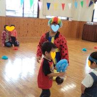 今日は、子育てサークルのミニ運動会!