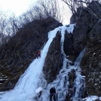 2017/3/19-20:西上州アイスクライミング:カブコロン、ナメネコフォール、エープリルフール