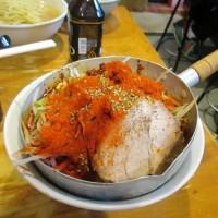 ラーメン二郎野猿街道店2 プチ二郎麺少なめ辛い奴DEATHヴァージョン 鍋