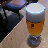 ランチでビール