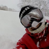 昨日のスキー動画:1月2日2017