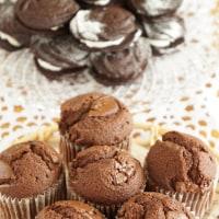 親子レッスンで チョコレートのカップケーキ&オレオ風クッキー