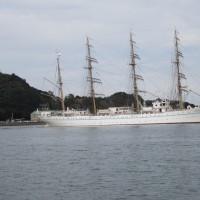 徳島小松島港 in 海王丸Ⅱ