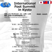 International Foot Summit in Kyotoに参加