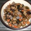 乾燥そら豆の五目煮