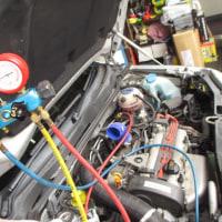 VW LUPO/GTI エアークリナーメンテ。