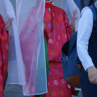 おにぎえ祭 御神幸行列 観光柳川水の精・横山紗弓 2016・10・9