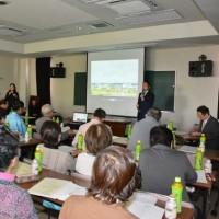 境町ボランティア連絡協議会の総会で行政報告会を開催させていただきました。