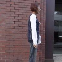 PUPULAププラ☆お袖シフォンリブカットソー☆