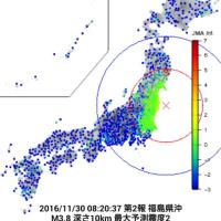 最近の地震