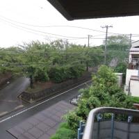 台風マラカスが通過している