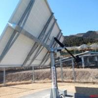 愛川太陽光発電所の周囲を歩く・・・