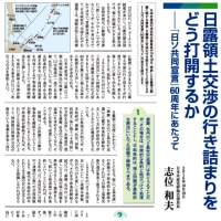 日露首脳会談について  志位和夫委員長の談話を紹介