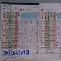 今日のゴルフ挑戦記(68)/東名厚木CC ウエスト→アウト(A)