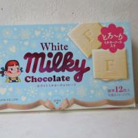 新発売らしい、ホワイトチョコのミルキー味?
