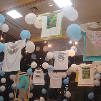 Tシャツ・アート展2ndステージin GEICはじまる。