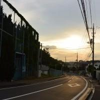 同日、午後6時過ぎの空模様