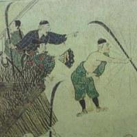 長刀(薙刀) 石山寺縁起絵巻