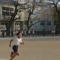 小学校最後の持久走大会