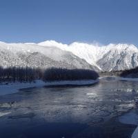 上高地スノーハイク