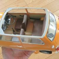 1/12 タミヤ ローバーミニ10インチドレスアップ3Dパーツ ミニマーク3仕様製作中3 ほぼ完成