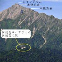 創楽 槍・穂高岳の大展望台 福地山からの景観